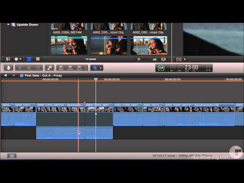 Rolling Audio Edits in Final Cut Pro 10.1