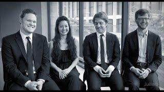 Juilliard Snapshot: Aeolus Quartet on the Perils of Technology