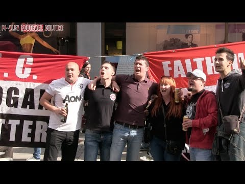 Bayern Munchen - Manchester United prologue part 1 (Apr 9, 2014)