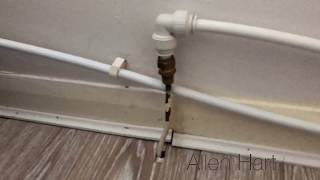 Failed Powerflush using Thermal Imaging Camera, Badly installed heating