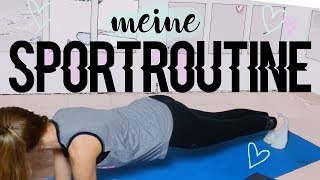 meine SPORTROUTINE ~ HOME WORKOUT ♥︎ Jackie Alice