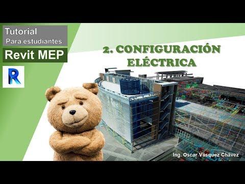 Tutorial Revit Mep Eléctricas (Cap.2) - Configuración Eléctrica