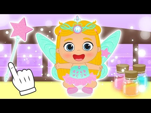 BABY LILY 🧚‍♀️ Dressing up as Tooth Fairy 😁 Cartoons for Children