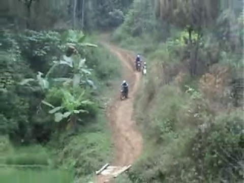 Enduro Dirtbike Indonesia (Trabas) 2008 part.1