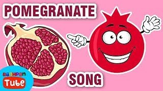 Fruits Nursery Rhymes For Kids | Pomegranate Song | Nursery Rhymes Songs | Bachpan Tube