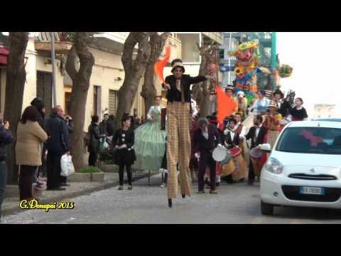 """Giovanni Donapai """"Sfilata di Carnevale ad Alghero 16/02/2013″.wmv"""