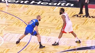 James Harden BULLIES Helpless Magic With Video Game 3 Point Shots In 54 Point Game! Rockets vs Magic