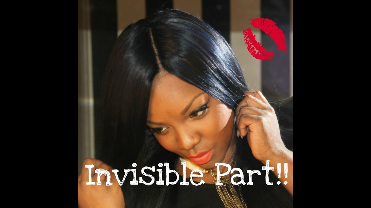 how to do soft dreads : How to: Flawless Invisible Part - YouTube