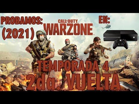Probamos Call of Duty War Zone (2021) / 2da Vuelta / Versión Xbox One (Fat)