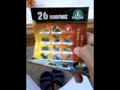 Epic Unboxing of DinoFroz!!