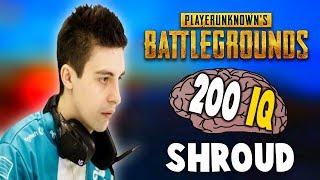 SHROUD TOP 200 IQ PLAYS EVER - PUBG