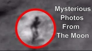 Mysterious Photos From The Moon