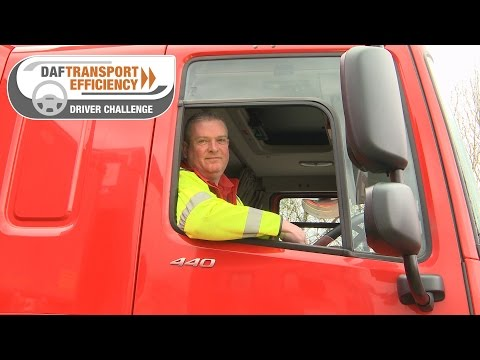DAF Transport Efficiency Driver Challenge - Meet the Finalists: Chris Gadman