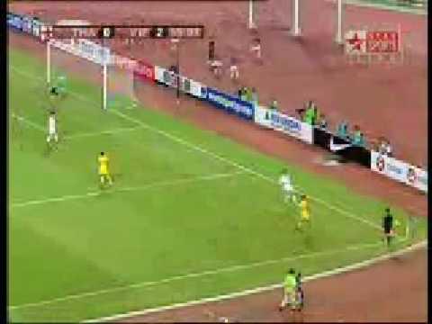 Clip đội tuyển Việt Nam đánh bại Thái Lan lượt đi chung kết AFF Cup 2008 (2-1)