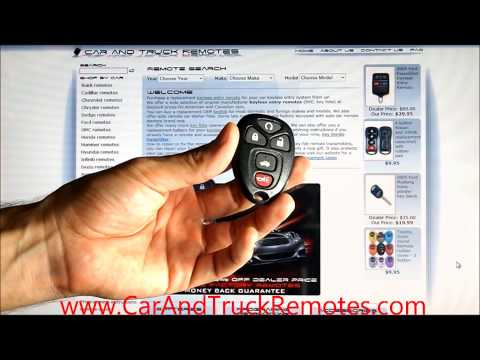 How to Fix Repair Broken Car Keyless Entry Remote Keyfob Buttons