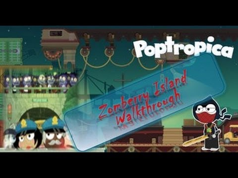 Poptropica Cheats For Zomberry Island : Full Walkthrough by LoudSeal