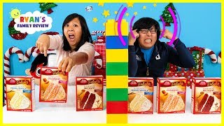 Twin Telepathy Cake Challenge Ryan's Mommy vs Daddy!