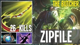 Zipfile Best Pudge In the World To Much Blind Hooks 26 kills | Dota 2 Pro Gameplay