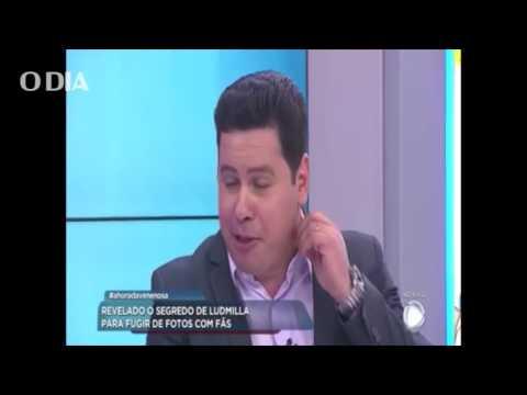 Apresentador da Record TV chama Ludmilla de 'macaca' ao vivo thumbnail
