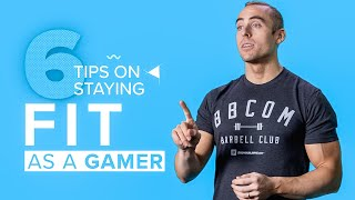 "6 Tips to Stay Fit as a Gamer | Jackson ""Bajheera"" Bliton Natural Pro Bodybuilder"