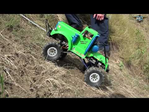 RC ADVENTURES - 2010 TTC - EVENT 3 - HILL CLIMB - ELECTRIC 10TH SCALE RC TRUCKS