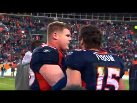 Tim Tebow mic d up WK16 2010