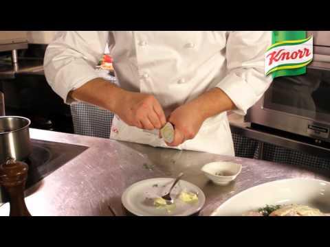 Knorr España - Receta de Pollo Asado al Horno con Cacito de Caldo