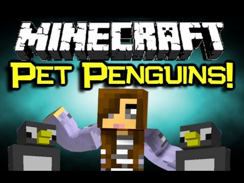 Minecraft Penguin Mod Minecraft Pet Penguin Mod