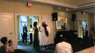Hilarious Wrestling Wedding Entrance