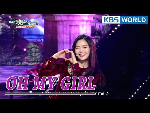 OH MY GIRL - Secret Garden | 오마이걸 - 비밀정원 [Music Bank COMEBACK / 2018.01.12]