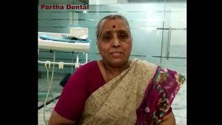 Happy Testimonials II Partha Dental II