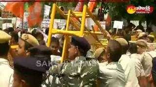 BJP launches 'Save Bengal' Rally at TMC Office in Delhi | High Tension
