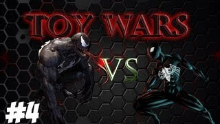 Toywars Ep 4: BATTLE OF THE BLACK SUITS...SPIDERMAN VS VENOM
