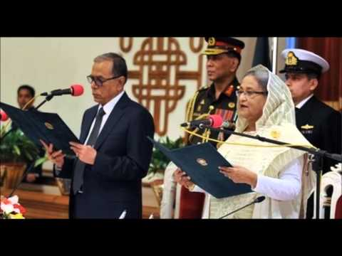 Sheikh Hasina Sworn In As New Bangladeshi Prime Minister