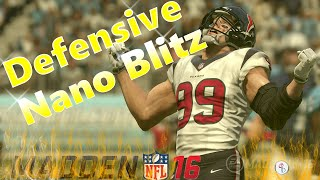 Madden 16: Dollar 3-2-6 - 3 Fire Buzz - A-Gap Heat! Fast/Easy Set-Up! Nano Blitz!