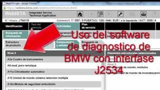 j2534 bmw flash diagnostico y programacion bmw j2534