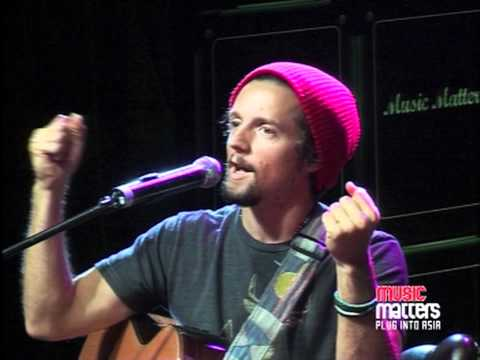Jason Mraz - Im Yours Live at Music Matters