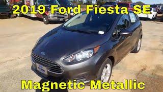 2019 Ford Fiesta SE Hatchback - Magnetic Metallic - Quick Walk Around