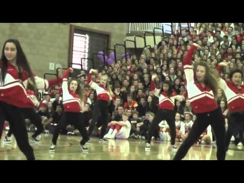 Cathedral Catholic High School Homecoming Rally 2012