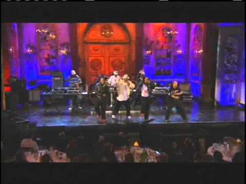 Grandmaster Flash and the Furious Five accept and perform Rock Hall Inductions 2007