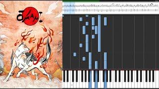 Okami - Reset - Thank You / Anime Piano Tutorial Sheet Music