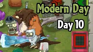 Plants vs Zombies 2 - Modern Day - Day 10: Modern Future