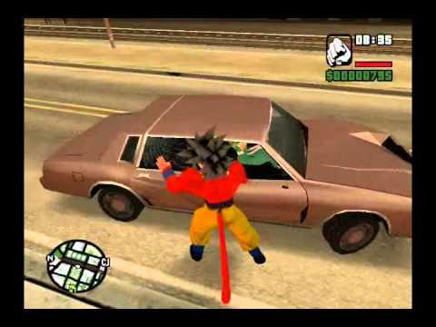 Goku SSJ4 para Gta San Andreas