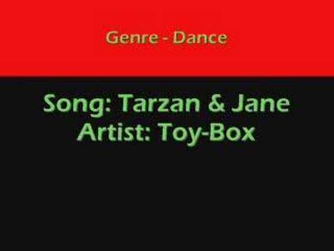 Tarzan & Jane - Toy-box (dance) video
