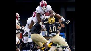 How Alabama players handle hurdles in football