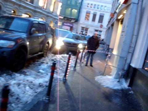 JS watches ) Москва. Центр. Сосульки. Грязь. Сугробы.
