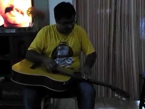 Chaand Sifarish (FANAA) Instrumental on Hawaiian Guitar by Shubham...