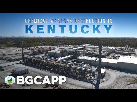 Chemical Weapons Destruction in Richmond, Kentucky