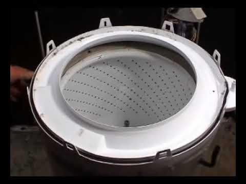 Tubo de accionamiento y freno lavadora Whirlpool de transmisión directa