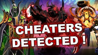 Dota 2 Cheaters - SF, Clinkz, AA, Lich and Rubick use HACKS!